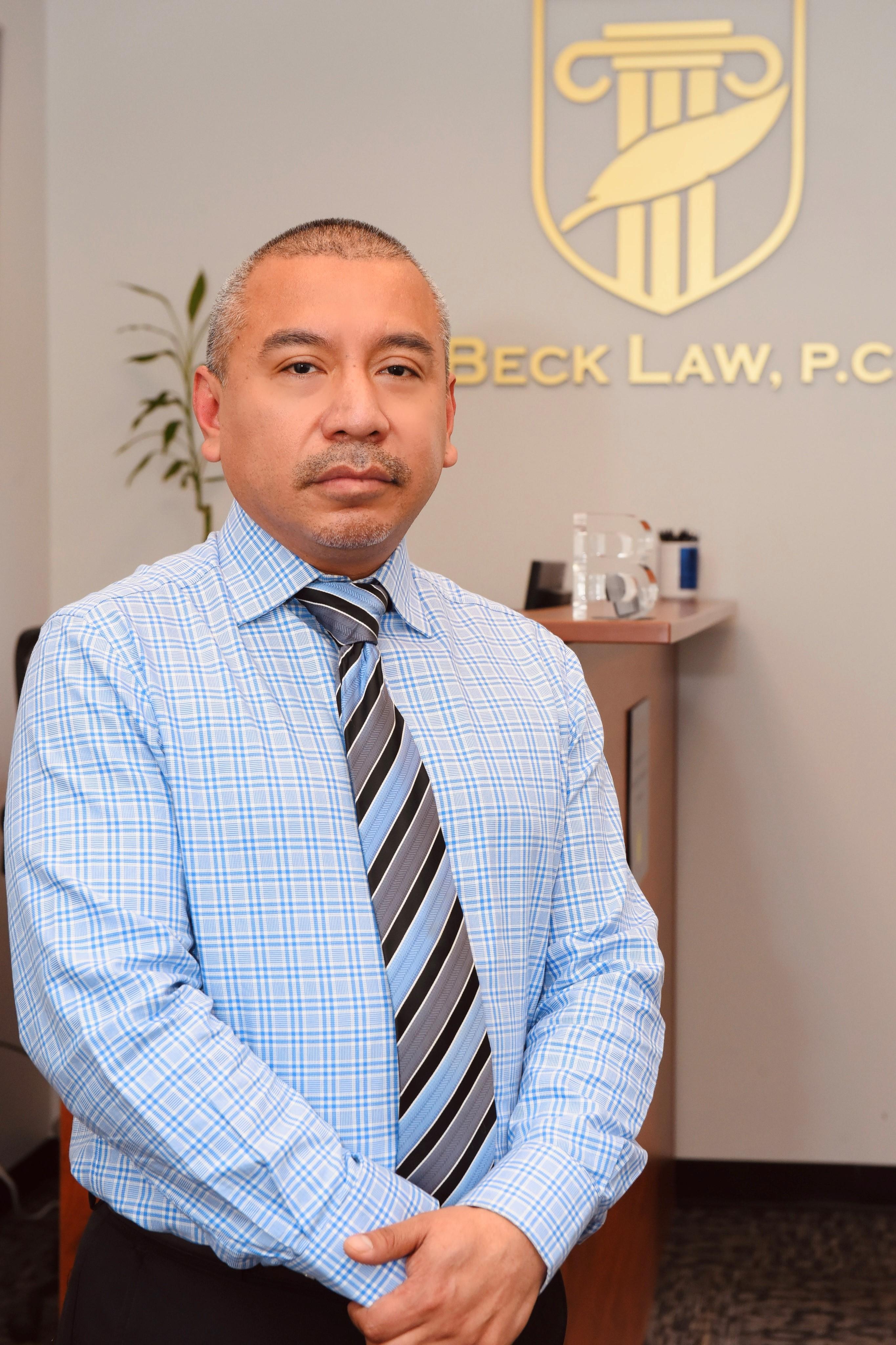 Boris Pinto - BECK LAW, P.C.